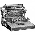 OldDesignShop_CaligraphTypewriterBW
