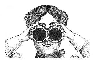 Binoculars smaller