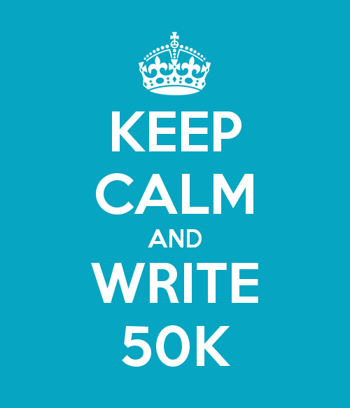 Keep Calm It's Nanowrimo!
