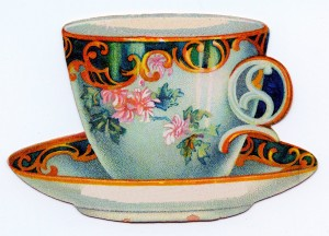 Graphics Fairy Teacup