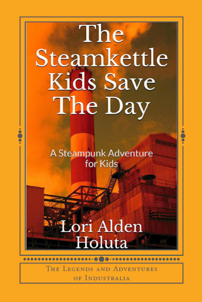 The Steamkettle Kids Save The Day Cover Art